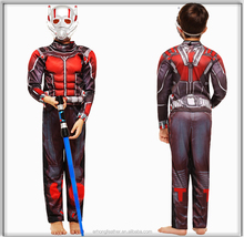 The Ant-Man Cosplay Costume Age of child muscle suit