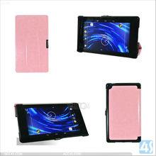 Four-fold Ultra-Thin Sleep Protective PU Leather Stand Case for Google Nexus 7 II 2nd P-GGNEXUS7IICASE015