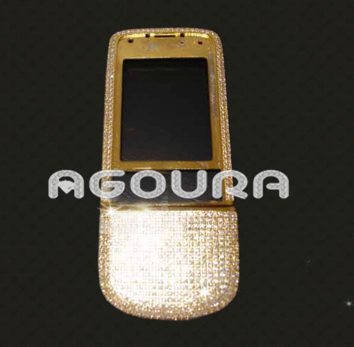 Full original housing for Nokia 8800,for nokia 8800 full housing with diamond