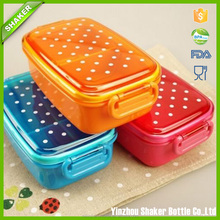 Children Lunch Box use for school camping, travel Kids Lunch Box Case Rectangle Microwave Bento Box Plastic Food Container