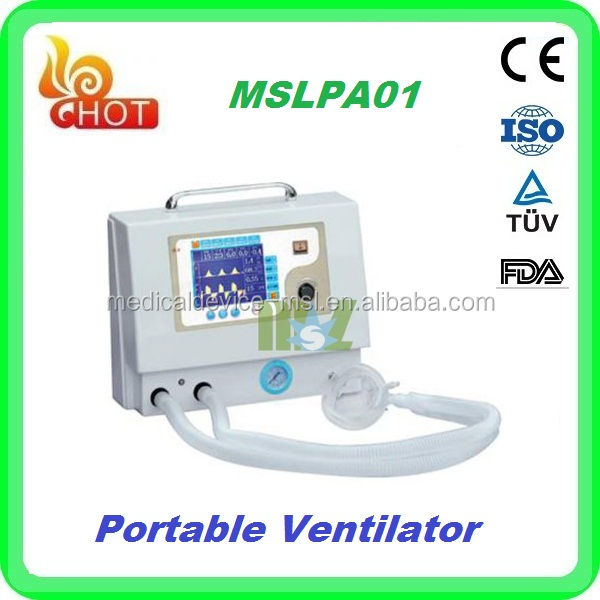 Pragmatic stretchly used medical hospital ventilator for anesthesia machine use in ICU room MSLPA01J