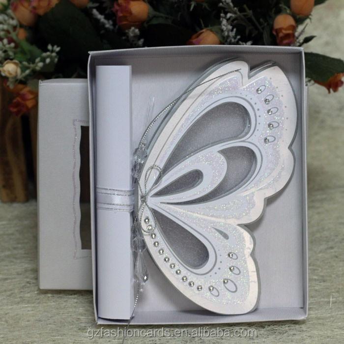 2015 Royal Scroll Butterfly U003cstrongu003eWeddingu003c/strongu003e U003cstrongu003eInvitation