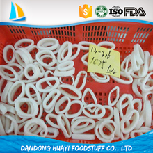 high quality frozen whole cleaned loligo squid ring