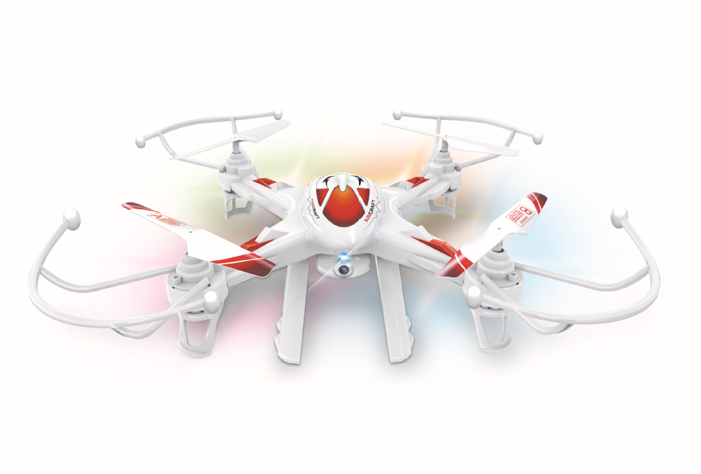 2.4G 4CH 6Axis LH-X8WF rc FPV quadcopter with hd camera smart phone drone