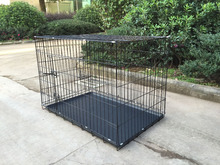Dogs Application and Cages Cage, Carrier & House Type Strong Stainless Steel Dog Cage