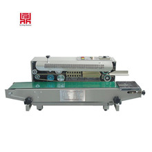 Factory supply continuous plastic bag heat sealing machine