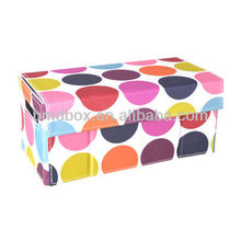 hot selling pretty non woven doll storage boxes