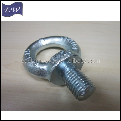 steel female/male eye bolt,eye nut (DIN580)