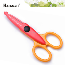 "Best-selling ABS 5-1/2"" craft scissors shape cutting"