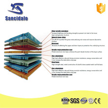 Different types of thermal insulation steel imitation roof tile