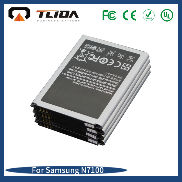 hot sells mobile phone battery wholesale cell phone battery 3100mah for samsung N7100