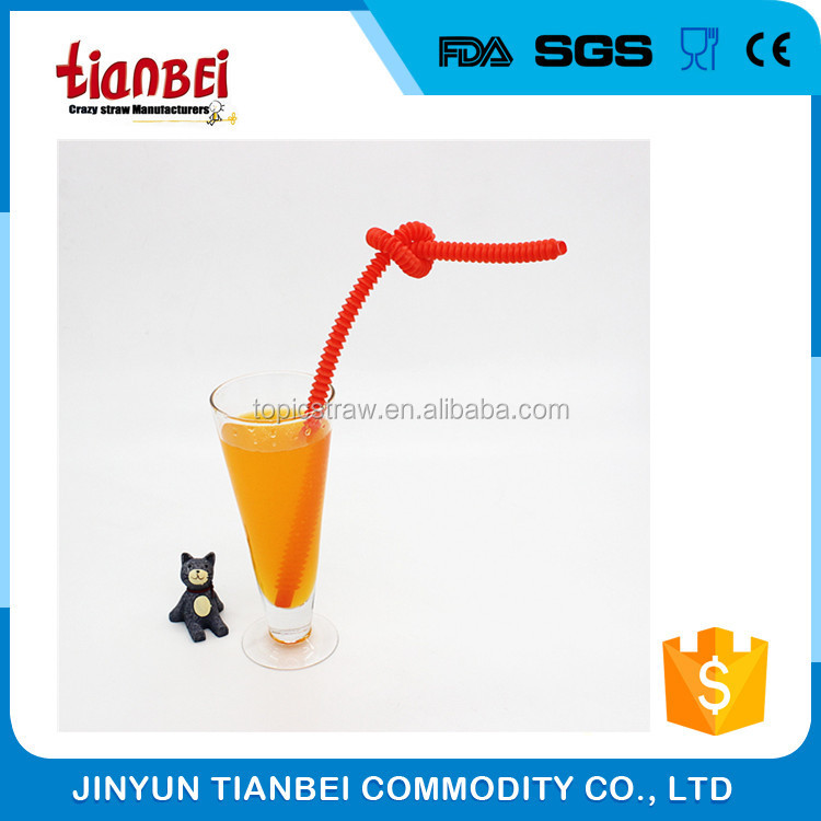 food grade pp long telescopic drinking straws for kids