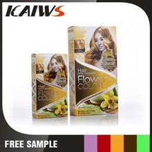 30ml*2 Golden Yellow PPD Free Hair Color