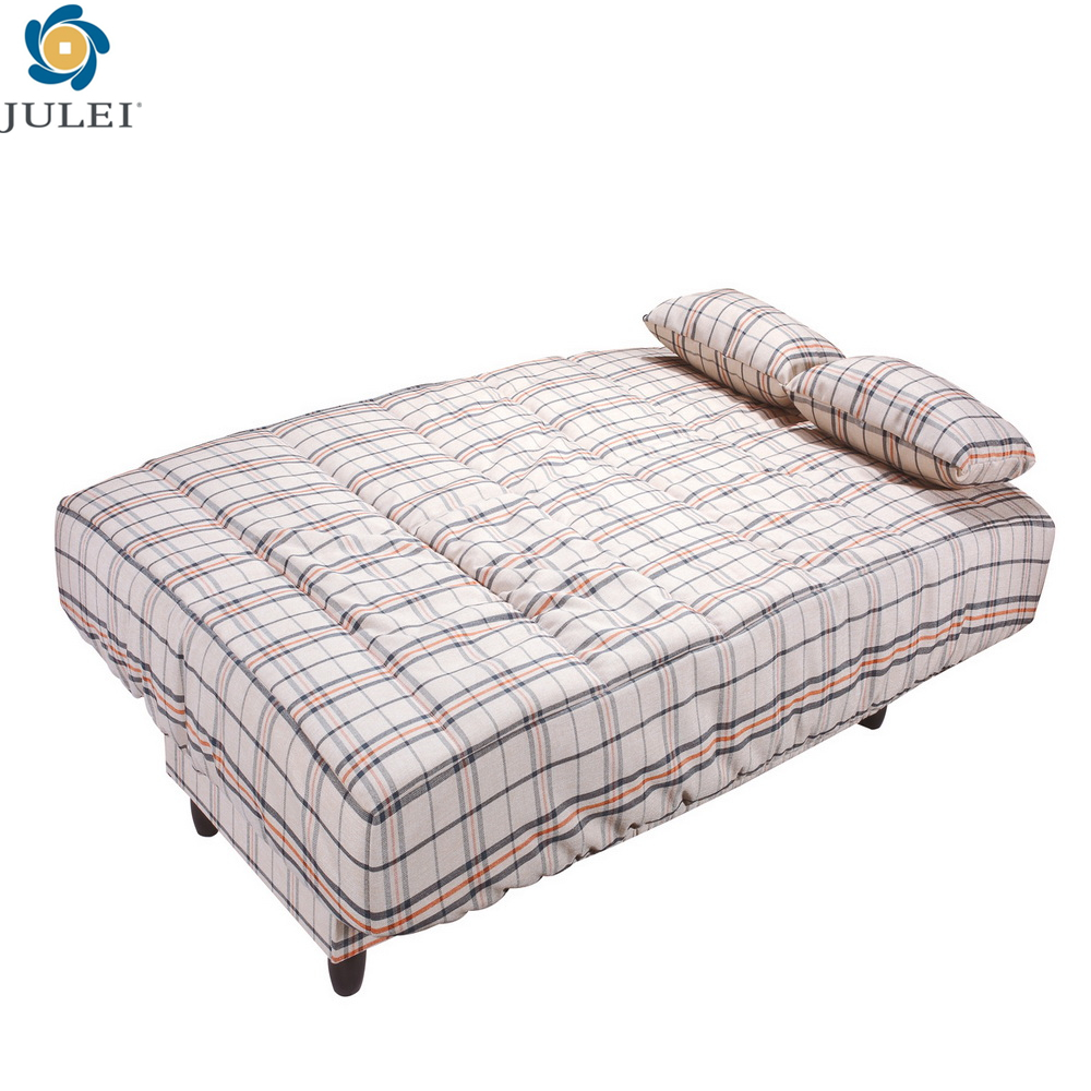 popular fabric cover folding living room sofa cum bed JL-SD05