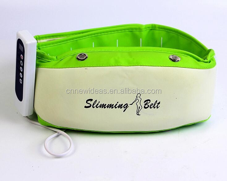2015 Low Voltage 12 V Electric powerful Rotating Belly Slimming Belt