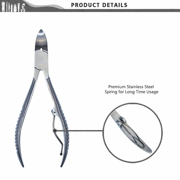 BNP0047E Professional Stainless Steel Cuticle Nail Nipper