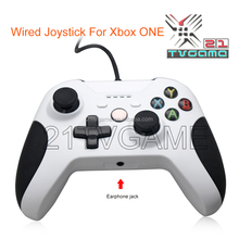 Wired Joy Stick for Xbox one,Replacement X360 ONE Wired Control,White Color