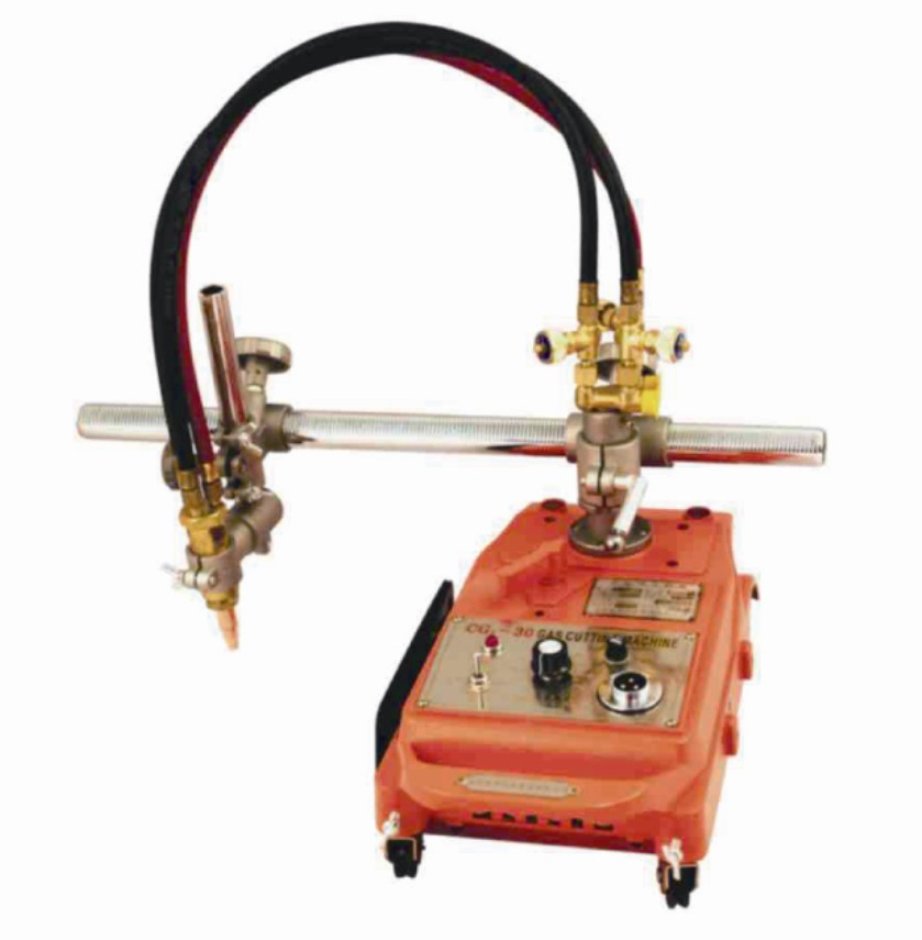 portable semi automatic straight line cutter gas flame professional CG1-30 cutting machine