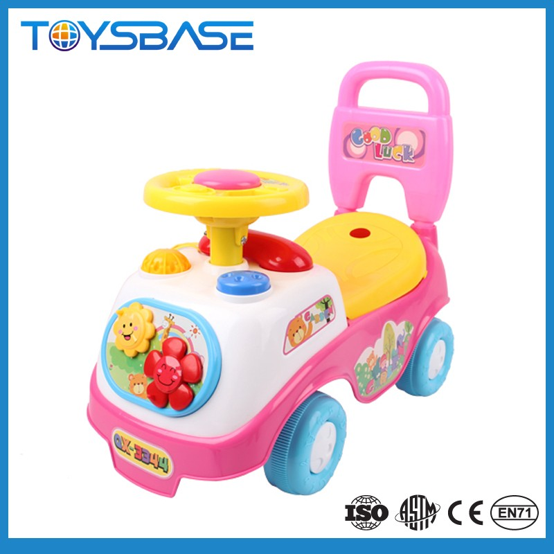 2017 Henghai Huada Factory price cheap plastic kid ride on toys baby car