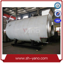 Horizontal Natual Gas Fuel Steam Boiler 1000KG/H for Chicken Plant Use for Clean Chicken Feather