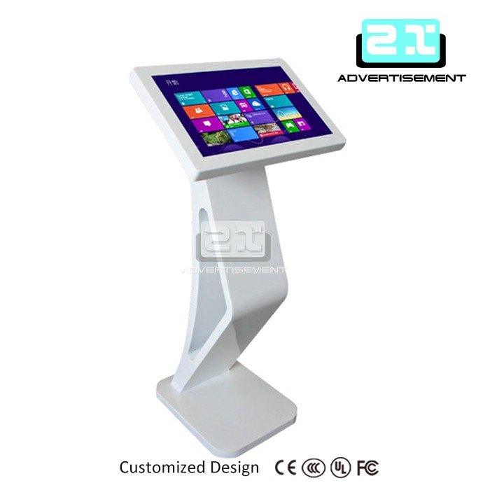 Most popular Floor standing touch screen kiosk, all in one PC, 19''/22''/32''/42''