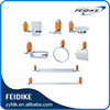 Feidike 5600 series beautiful and charming bathroom accessories set Red colour orange colour bathroom accessories sets