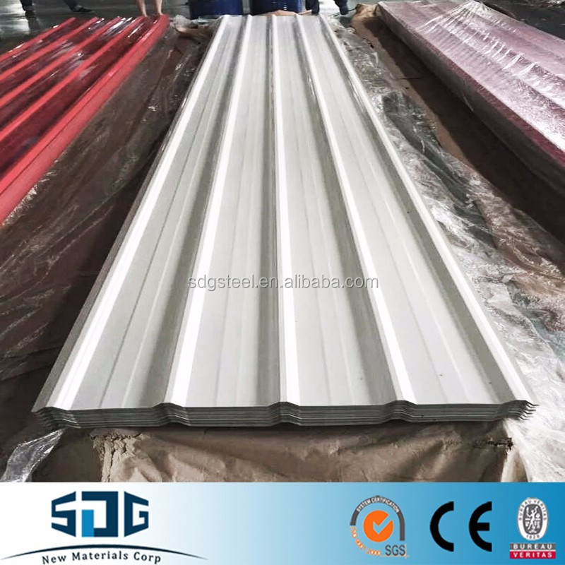 China Coated steel sheet for roof/Corrugated Metal Roof Tiles/Aluzinc Roof Sheet