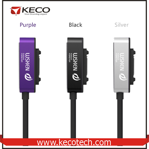WSKEN Wholesale For Sony Magnetic USB Charging Cable
