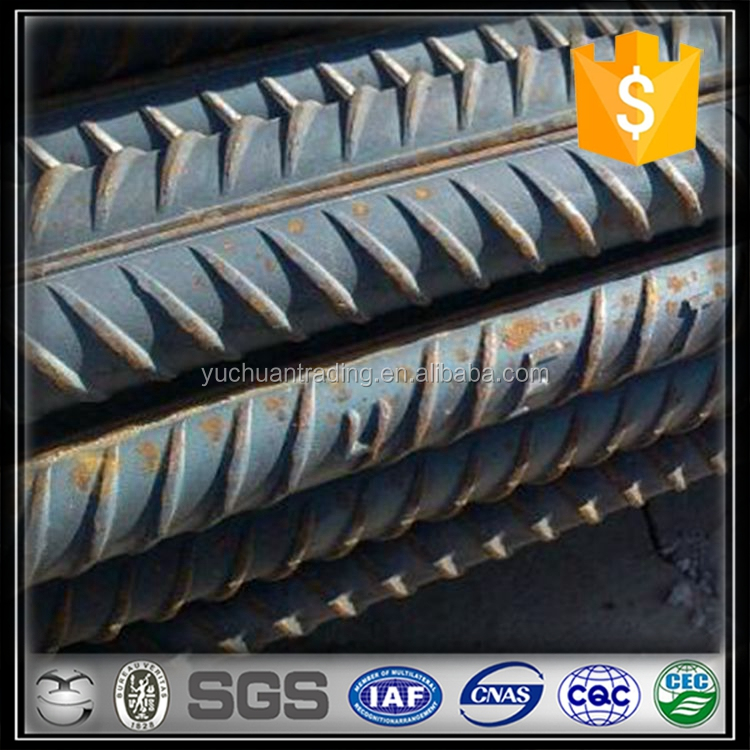 8mm 10mm 12mm 16mm 18mm 20mm 22mm deformed steel bar/ steel rebar/ reinforced iron bars for construction