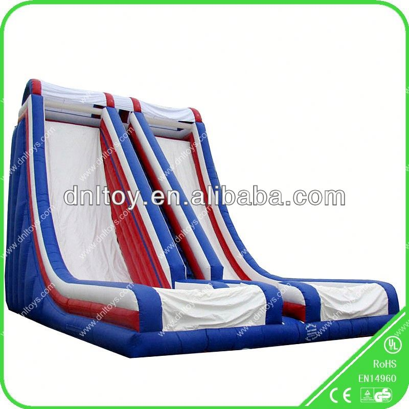 Inflatable Slide /jumping castle with slide and pool
