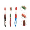 Comfortable using experience soft bristle rubber handle toothbrush