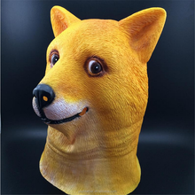 PM-773 High quality latex God annoying dog mask for Halloween
