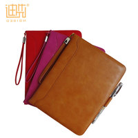 Business office use universal leather tablet case for custom ipad mini 1/2/3