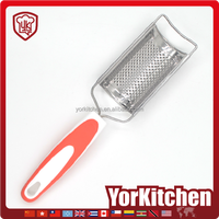 New design TPR handle Factory price stainless steel manual cheese kitchen grater