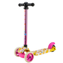 2017 New Model Top Quality Self Balancing Aluminum T Bar 3 Wheel Scooter