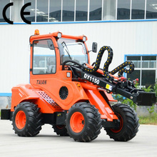chinese construction machine DY1150 backhoe loader snow blower wheel loader
