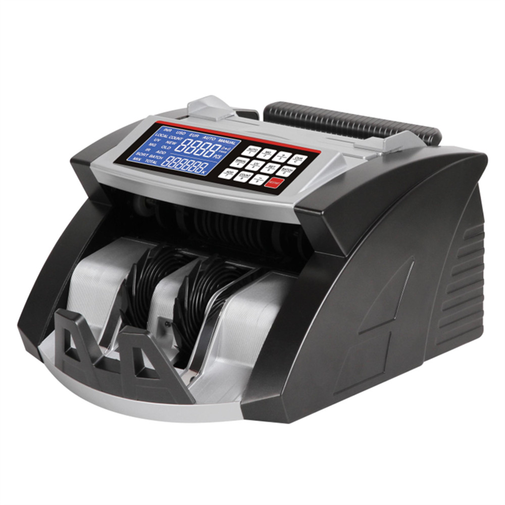 AL-6000D INR Counterfeit Intelligent Portable Banknote Counter