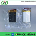 GEB653450 3.7v 1200mah lipo headset lithium polymer battery