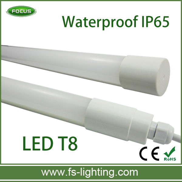 IP65 Waterproof 60cm 9W 900lm Epistar 2835 T8 LED Tube