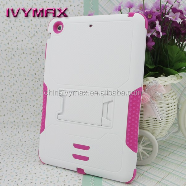 China Mobile Case for ipad mini Shockproof Armor Combo Case