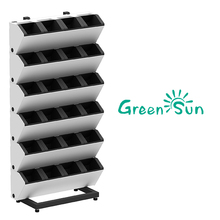 2017 new design GreenSun Hydro Plastic Vertical garden wall planter/Hydroponic green wall planter,hanging planter