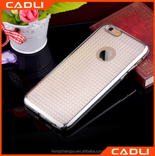 Bling Crystal Diamond Pattern Electroplated Soft TPU cell phone Case for iphone 6 6s