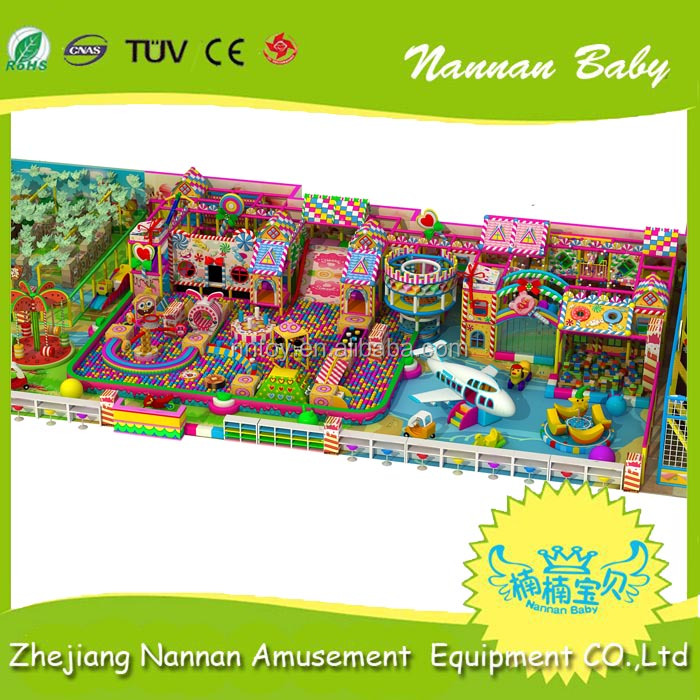 Commercial kid's zone indoor soft playground equipment