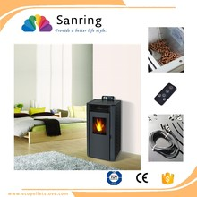 Different models Energy saving freestanding pellet stove with PE & TUV