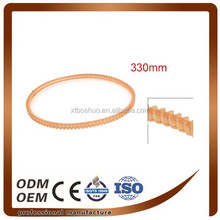 3mm Pitch 330mm Double Sided Engine PU Timing Belt Orange