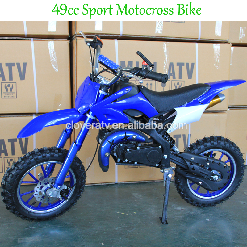 Chinese Cheap Kids Mini Motocross 49CC Dirt Bike Moto with Button Start