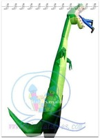 Qi Ling 2011top inflatable dinosaur inflatable air dancer