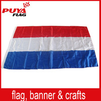custom 100% polyester farbic printed national Duth flag /3x5ft Holland flag /Netherland country flag for 2016 EU Cup