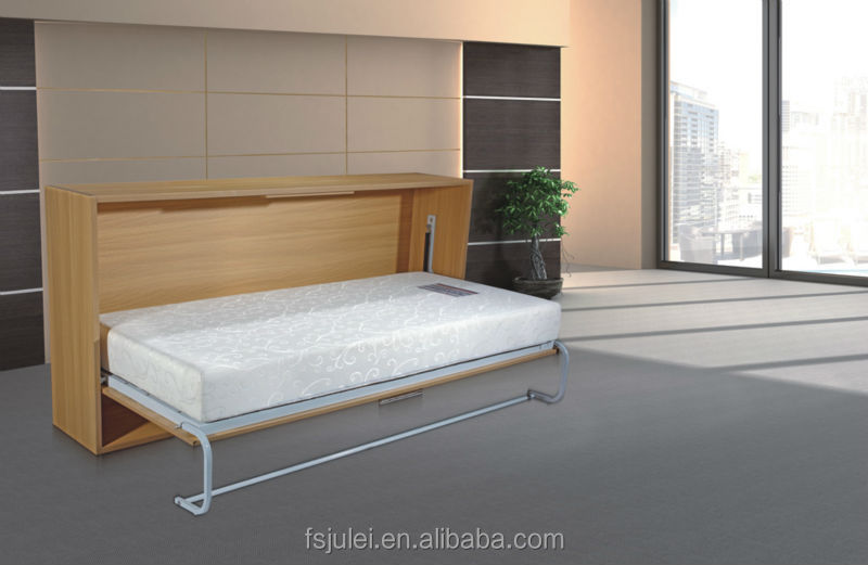 side opening sleeper wall bed mechanism