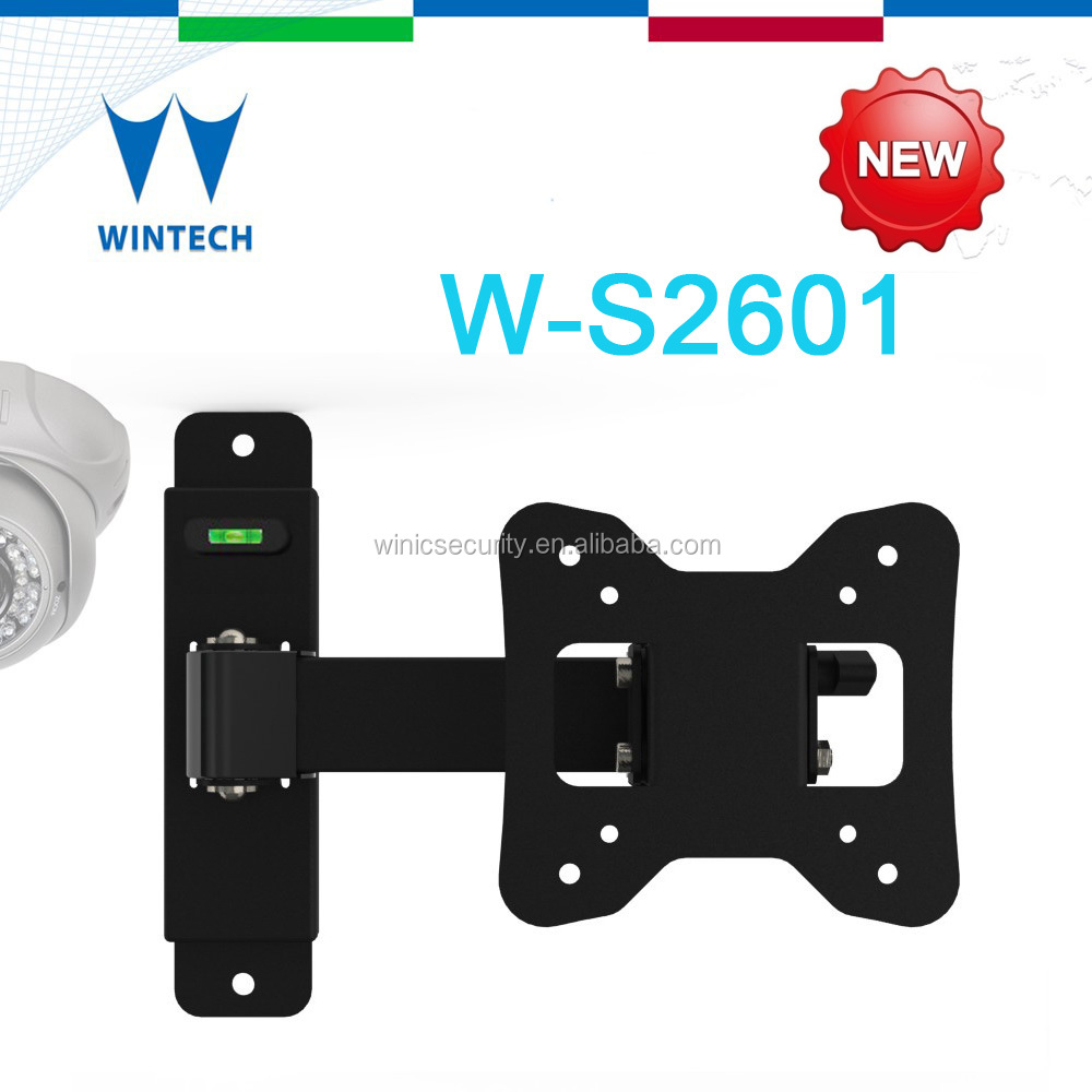 "100 x 100 mm wall mounting bracket vesa mount swivel hinged up to 26"" screen"